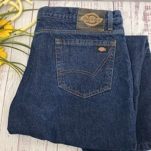 Dickies Ft Worth TX Flannel Lined Jeans 40x32